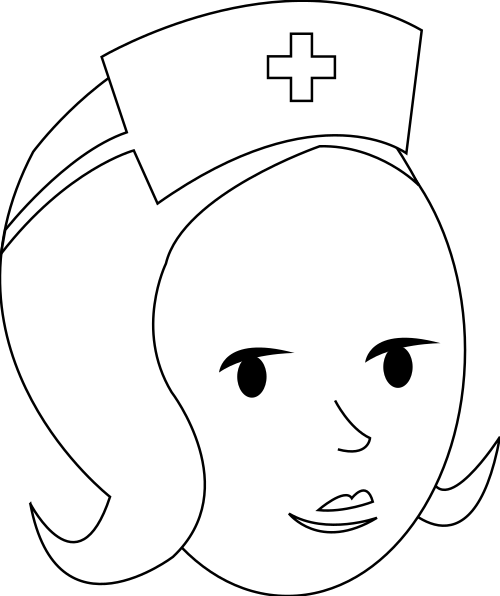 nurse outline