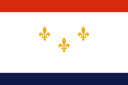 Flag of New Orleans Louisiana