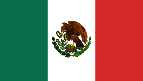 Flag of the United Mexican States 1916 1934